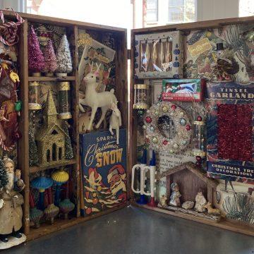 Christmas Memories by Wendy Aikin, Mixed Media