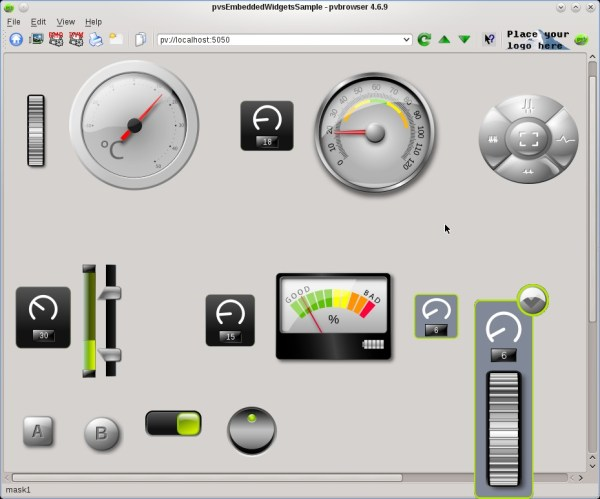 pvbrowser – The Process Visualization Browser. HMI and ...