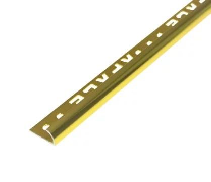 คิ้วอลูมิเนียมโค้ง 9 มม.สีทองKWAG-16