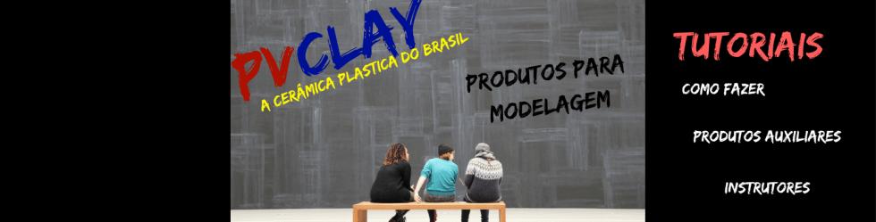 Cerâmica Plástica PVClay Polymer Clay