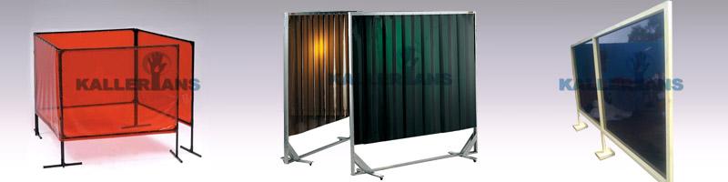 Weld Curtain Enclosures : Welding screen pvc strip curtains chennai