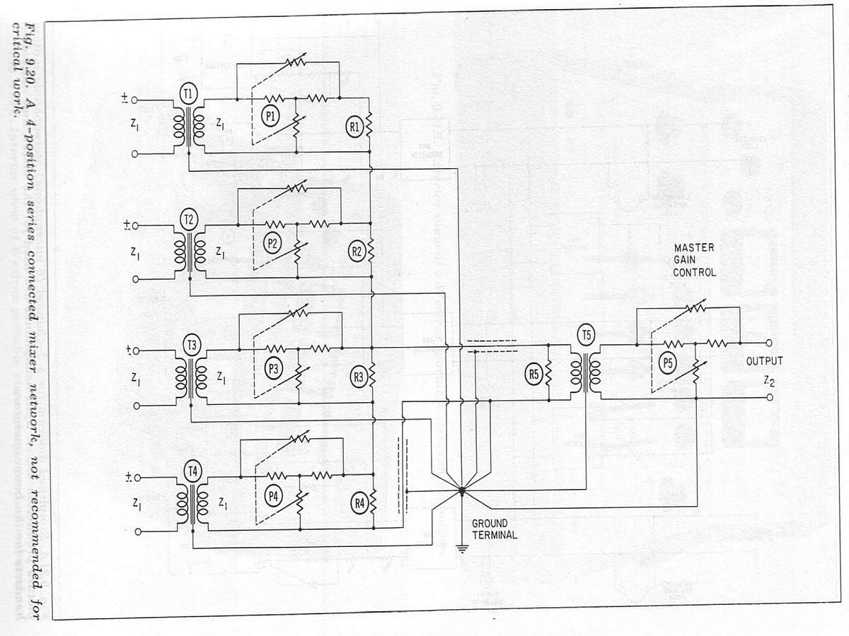 Using Input Amp Interstage Transformers In A Balanced