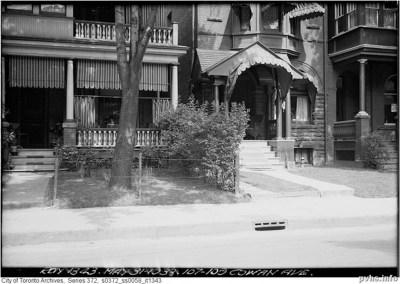 107-109 Cowan Avenue, 1933