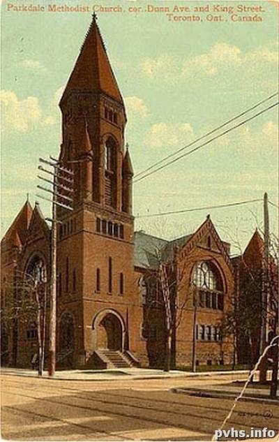 1911-Parkdale Methodist Church Dunn and King