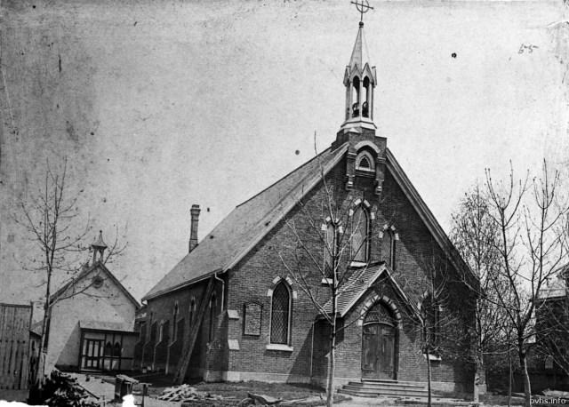 9 1888 St. Mark's Anglican Church, Cowan Ave., e. side, s. of Queen St. W. Tor Pub Lib
