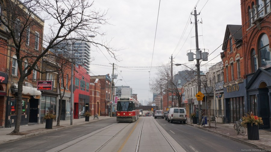 q 1249 Queen St W rhino to right 2016