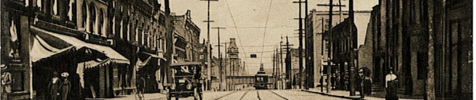 q 1296 Queen St W Cadillac to left. 1920 c