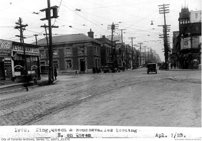 rq 1651 ac Queen St W of ronci look east a (0) 1923
