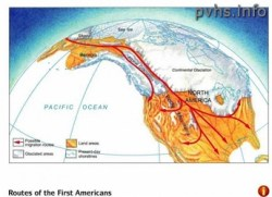 (Photo : utexas.edu) The Beringia land bridge allowed migration from Asia to Alaska and early Native Americans likely lived there for 10,000 years.