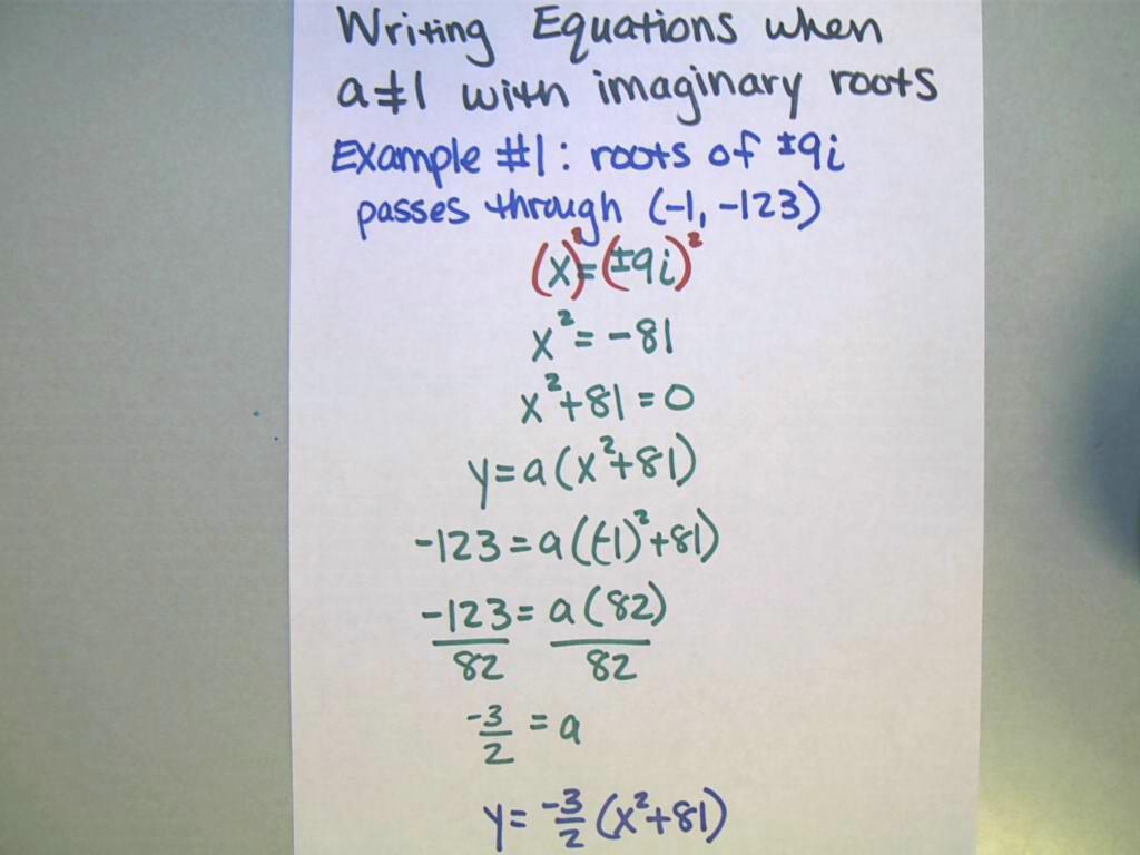 Unit 1 Quadratic Factoring Roots Rational And Radical