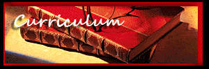 Curriculum - red leather bound books background