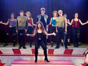 Pippin production at Palos Verdes HIgh School