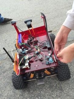 Palos Verdes Institute of Technology | PVIT - Robomagellan -- photo of robot