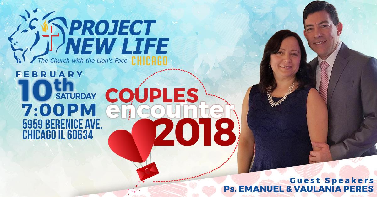 It's time again for our annual Couples' Encounter! February 10, 2018