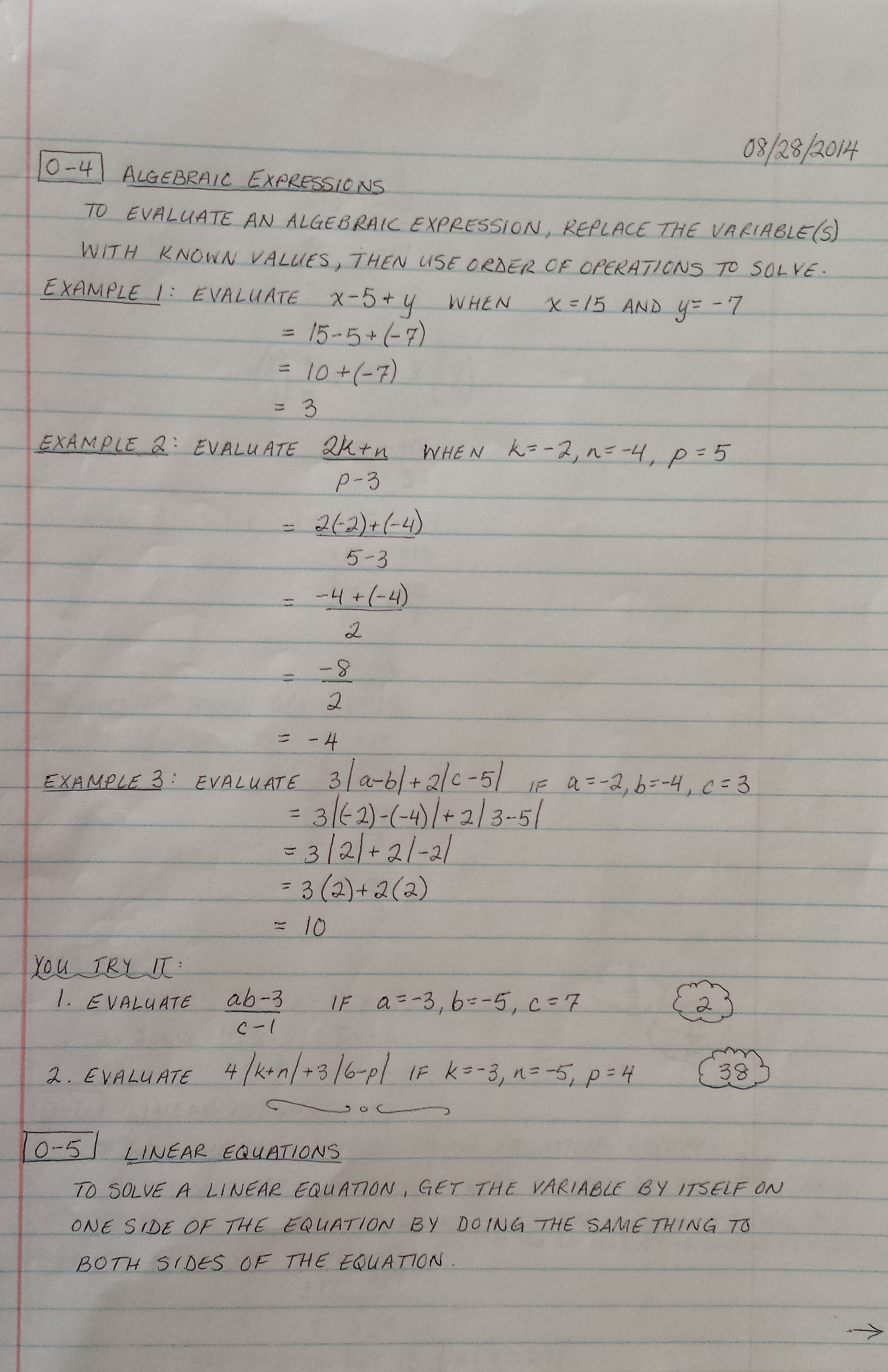Equations With Variables On Both Sides Practice And
