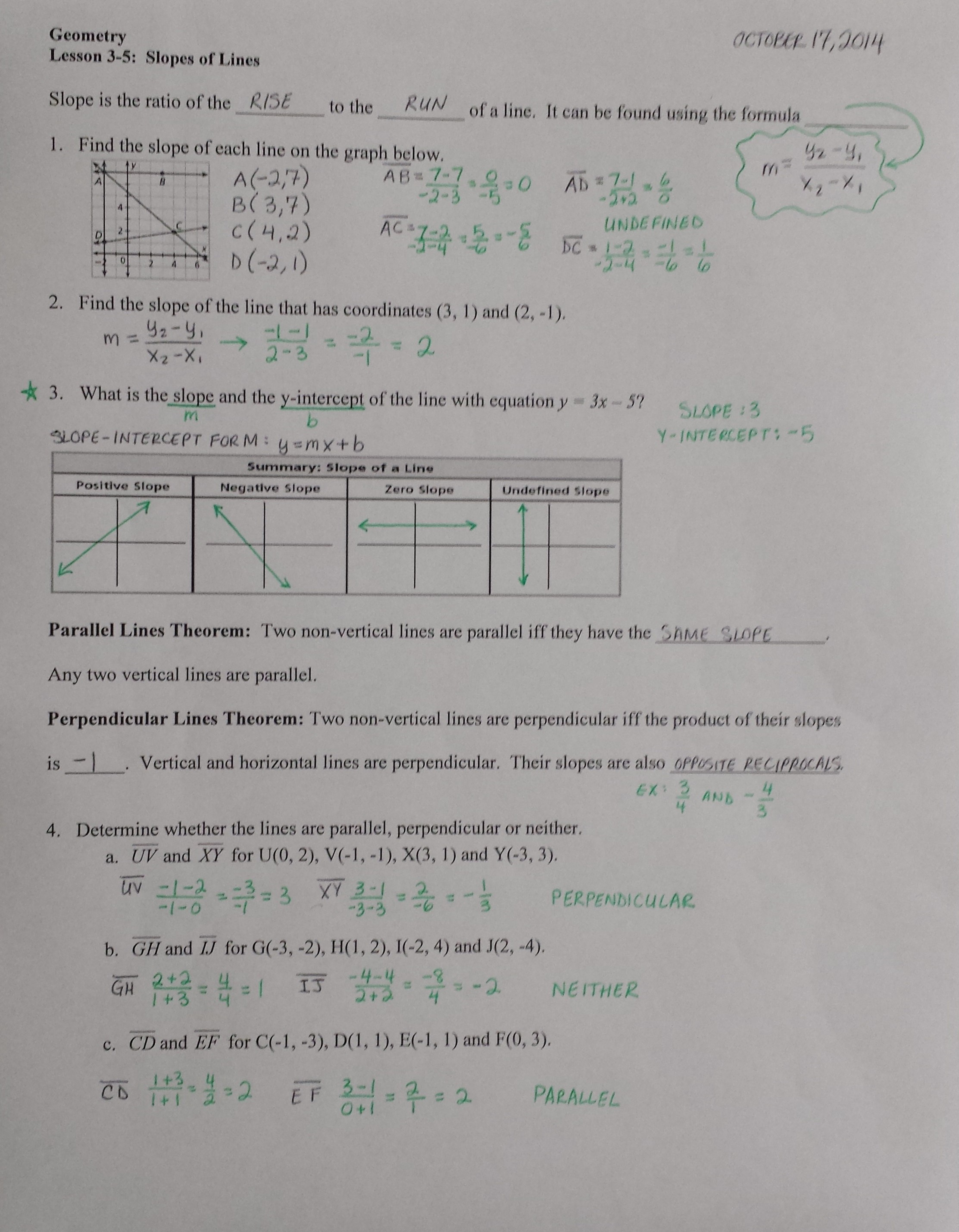 Deductive Logic Worksheet
