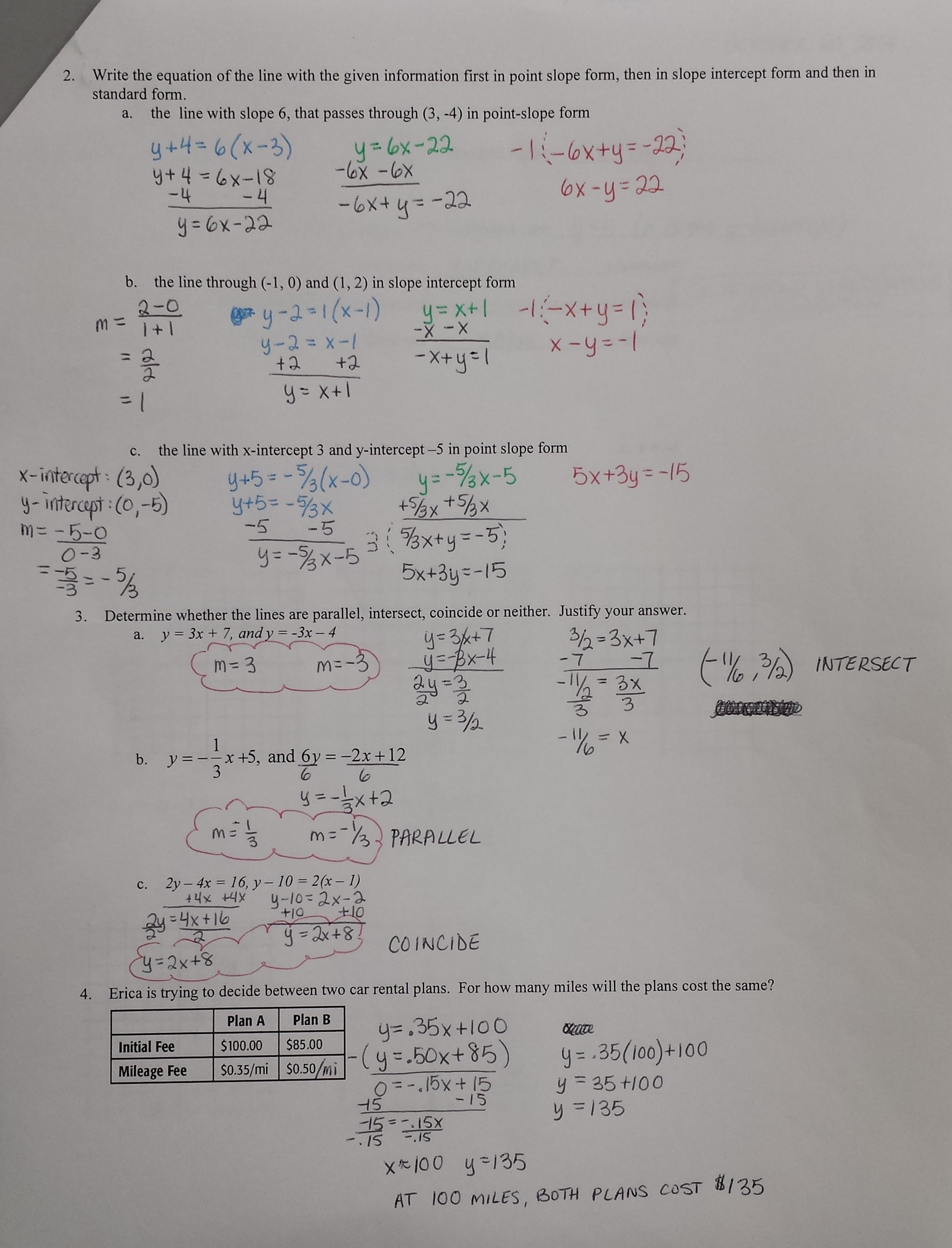 4 3 Skills Practice Congruent Triangles Worksheet Answers
