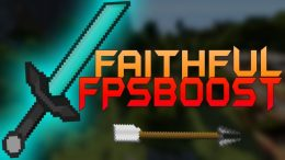 Faithful FPSBoost PvP Texture Pack for Minecraft 1.12.2-1.7