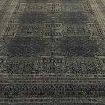 Black Transitional Rug Abstract Design Scottsdale AZ PV Rugs Overview-min