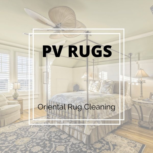 customers rug that was picked up from their home in phoenix az, area rug cleaned by PV Rugs