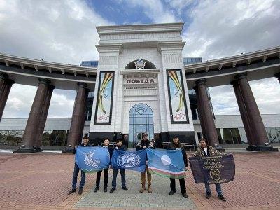 """Музейно-мемориальный комплекс """"Победа"""". г. Южно-Сахалинск. 9 ноября 2019 года."""