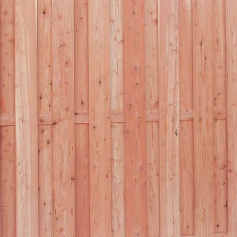 Douglas houten schutting
