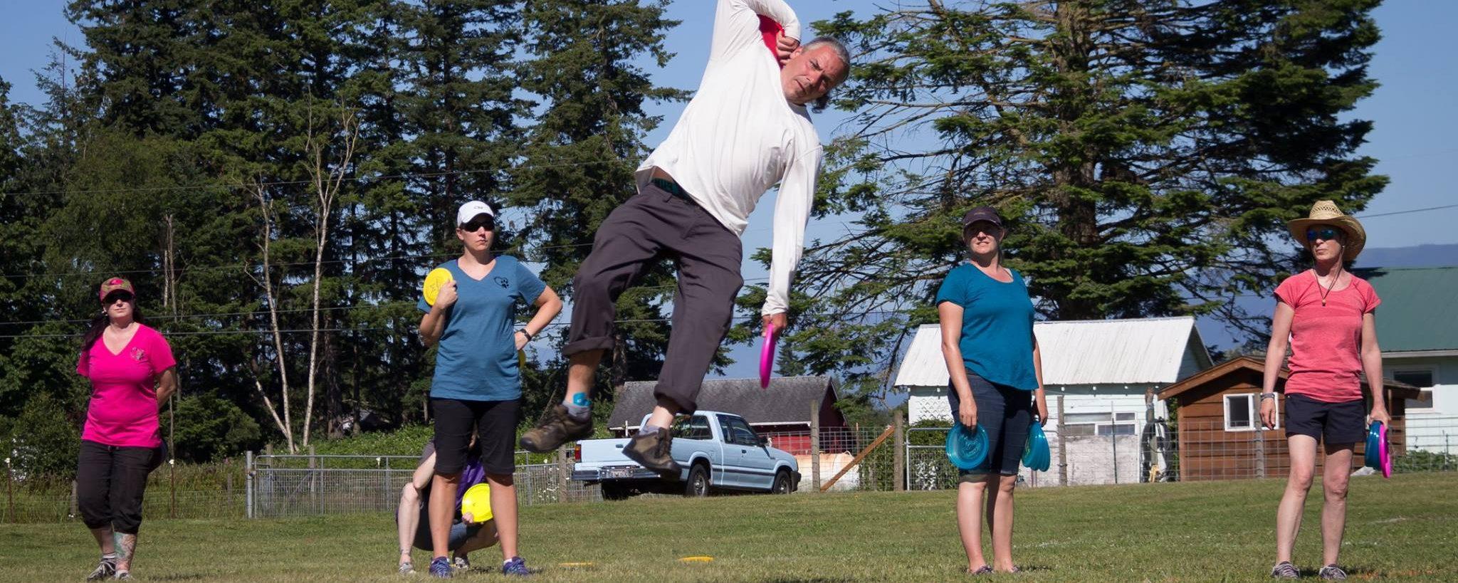 Tao of Disc Dog   Balanced Throwing