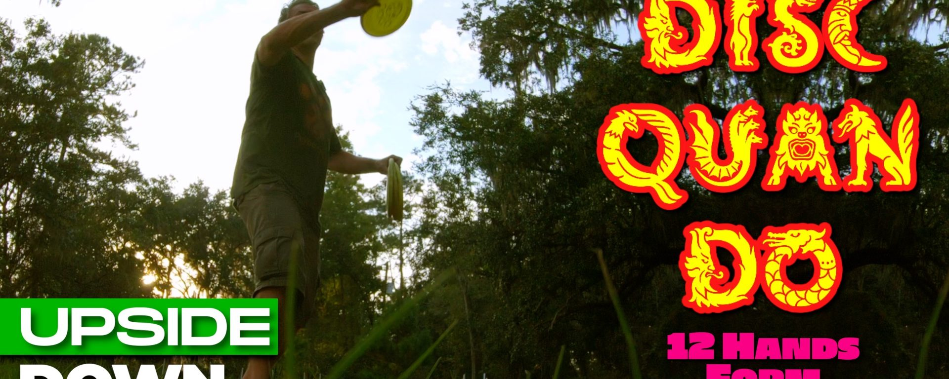 Disc Quan Do Throwing | 12 Hands Form