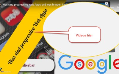 Videos zu progressive Web Apps