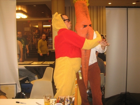Darwyn Meets The Flaming Carrot 2