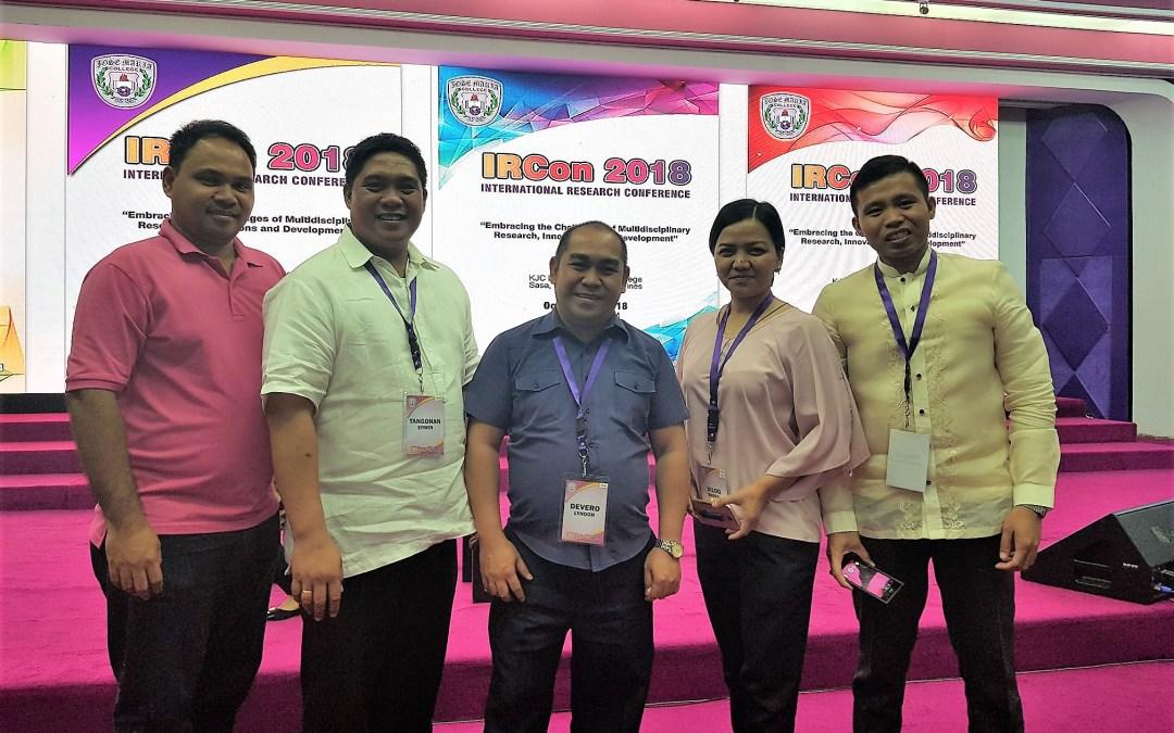 PWC dean, program chairs join JMC's 1st IRCon