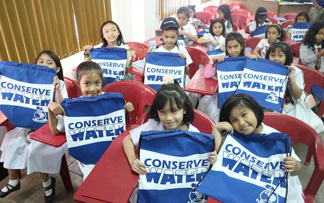 Grade school students attend DCWD Water Conservation Forum