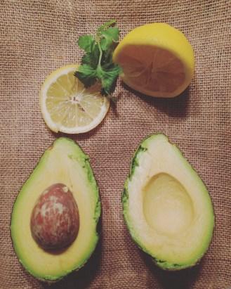 Classic avocado shot.