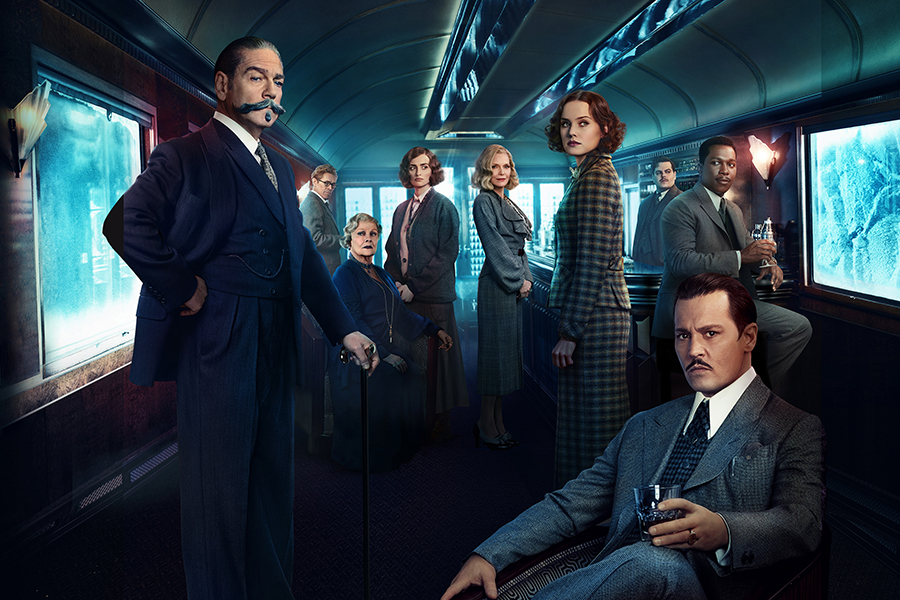 Murder On the Orient Express cast