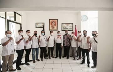 Kunjungi PWI, Oded Ajak Wartawan Kolaborasi Dorong Pembangunan Kota Bandung