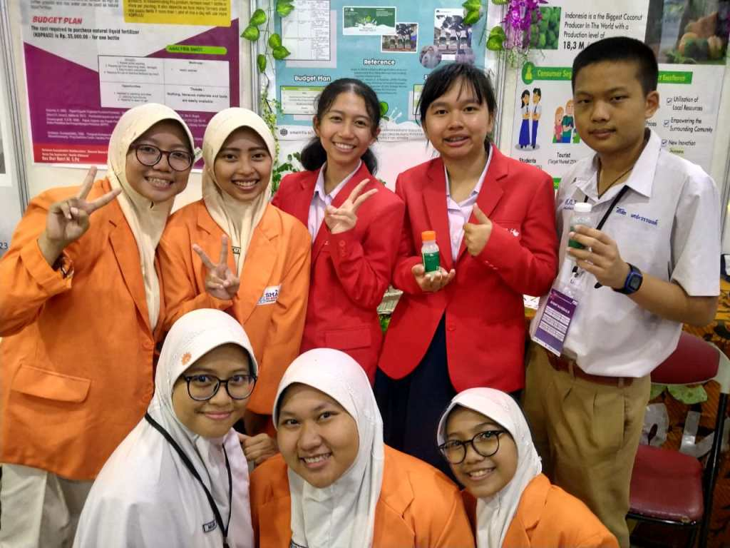 Yoghurt Daun Kelor siswa Smamita juara karya ilmiah pada ASEAN Innovative Science and Entrepreneur Fair 2020, Jumat-Ahad (14-16/2/20).