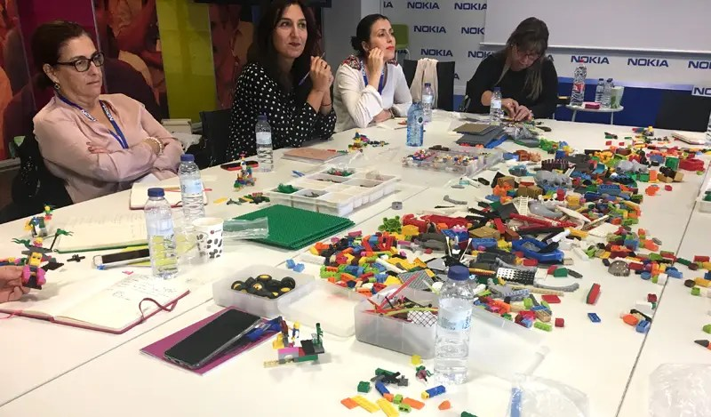 Lego design thinking