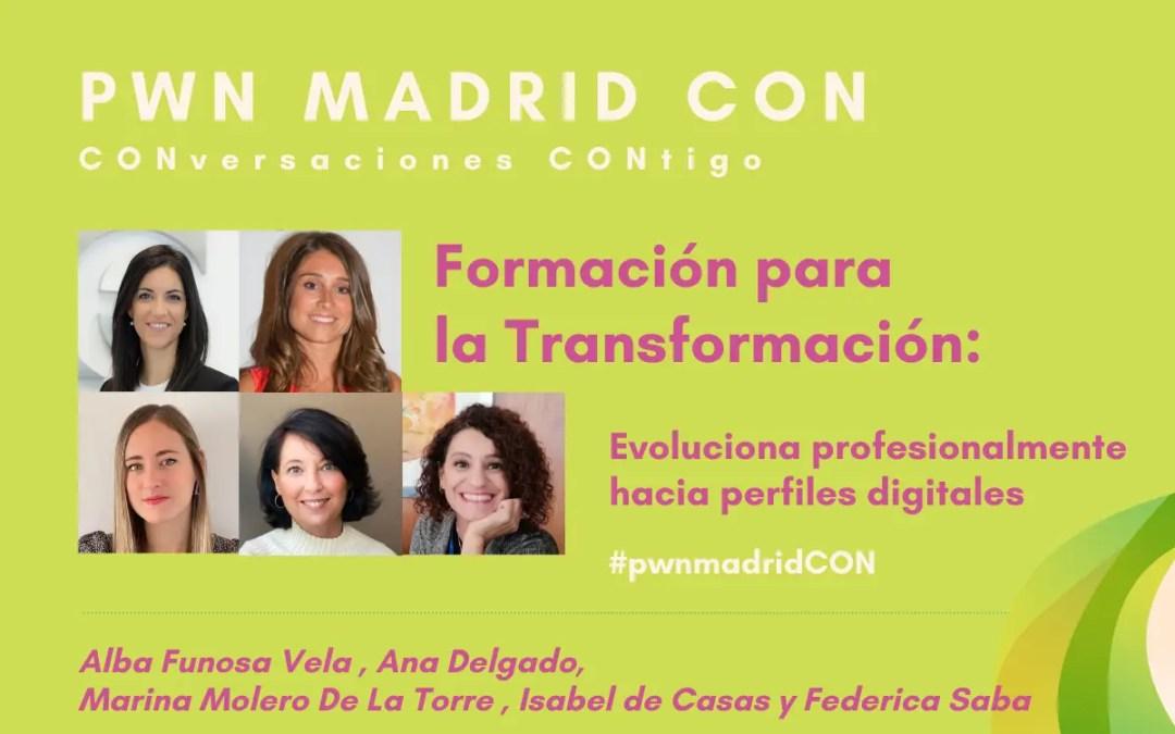 Formación para la Transformación Digital: Evoluciona profesionalmente hacia perfiles digitales