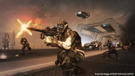 Press kit image of DUST 514 from CCP hf