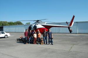 AHS members at Calhoun airport