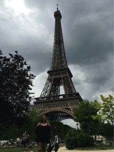 Finally Made it to the Eiffel Tower!