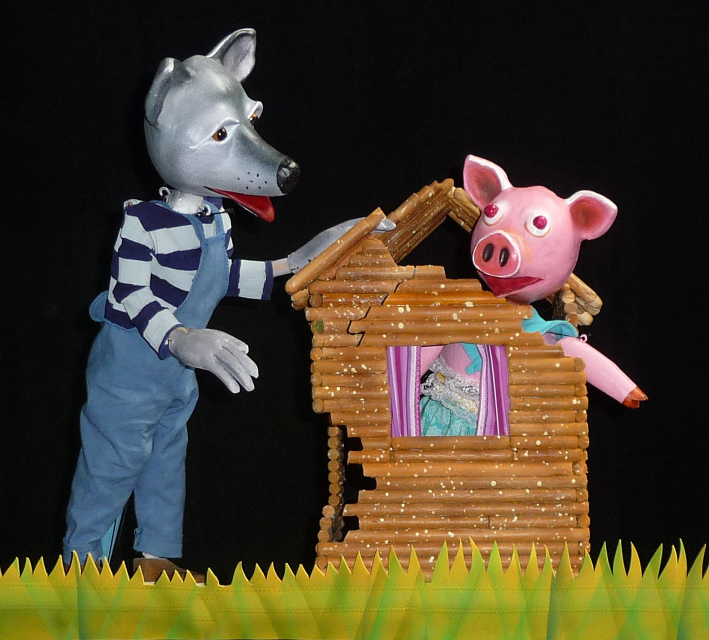 Three Little Pigs Program on April 25.