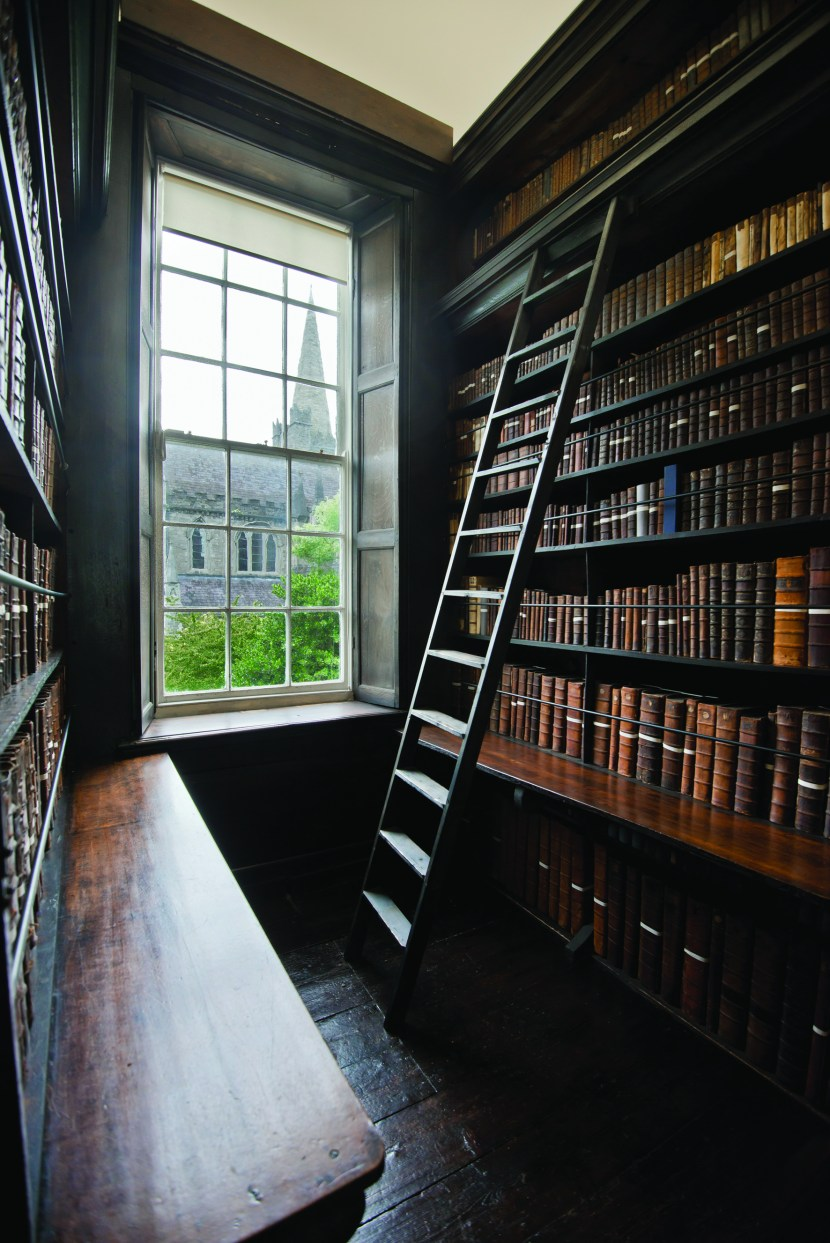 Marsh's Library, Dublin, Ireland. Photo by Matt Cashore
