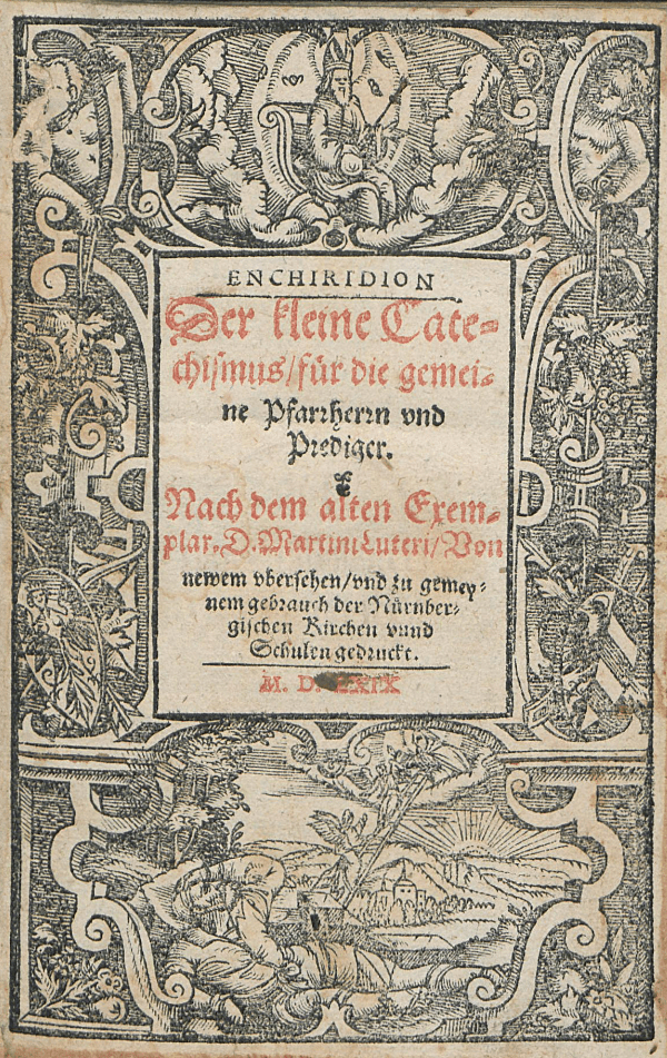 Title page of Luther's Small Catechism