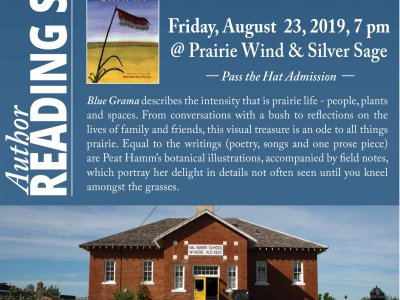 Author Reading: Heather Peat Hamm - August 23, 2019