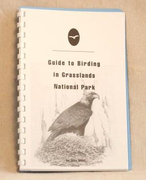 Guide to Birding in Grasslands National Park