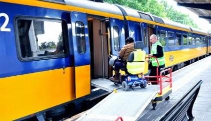Op 303 treinstations geen assistentie mogelijk voor mensen in een rolstoel