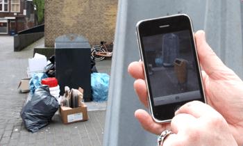 Met de BUITENBETER App meld je een probleem snel bij de gemeente