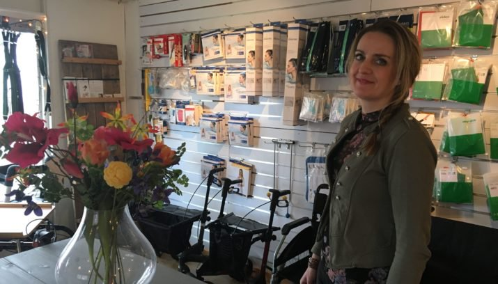 Marie de Zwaan: Aanwinst voor Nunspeet: Zorg- en Comfortwinkel Nunspeet.