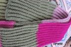 Hilda's knit scarf